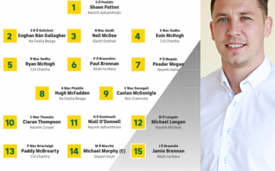 Paul Brennan to start for Donegal in the Ulster SFC Final