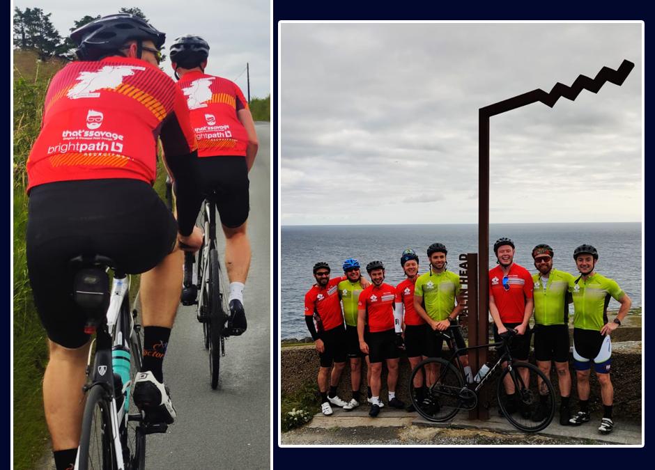 Malin2Mizen cycling challenge