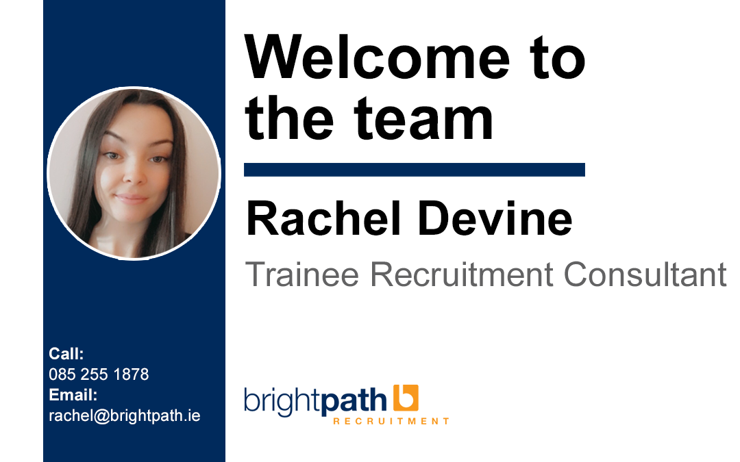 Welcoming our newest team member.